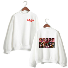 LUCKYFRIDAYF New RED Velvet Print Women/Men Clothes Hot Sale Turtlenecks Women Long Sleeve Casual K-pops Sweatshirts