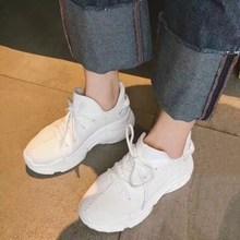 1a1dce1759b8 Mode stretch chaussettes chaussures nouvelle plate-forme sport chaussures  version Coréenne de Harajuku sauvage laid