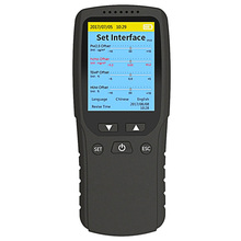 цена на PM1.0 PM2.5 PM10 Digital Monitor TVOC HCHO Formaldehyde Detector Household Gas Temperature Humidity Meter Air Quality Analyzer
