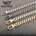 W.D.POLO Strapper you handbags belts women bags strap women bag accessory bags parts iron material icon bag belts M2331