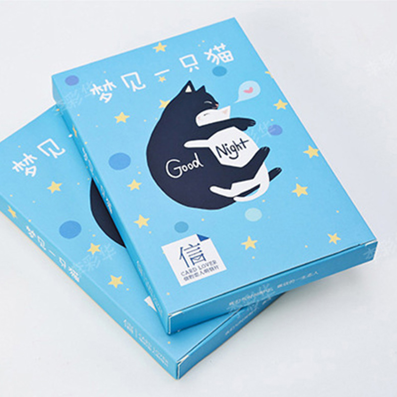 30pcs/set Postcard Greeting Business Cards Lover Dream of A Cat ...