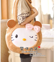 Gift For Baby 1pc 45cm Cartoon Big Bowknot Cookies Hello Kitty Cat Cute Soft Creative Children
