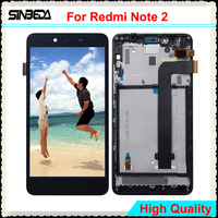 Sinbeda 5 5 LCD For Xiaomi Redmi Note 2 LCD Display Touch Screen Digitizer Assembly With