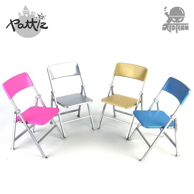 US $4.74 |PATTIZ 1:6 Modelli di Sedia di Plastica di Colore Bambole Fai Da  Te Accessori Action Figure Mobili Mini Dollhouse Giocattolo Sedia ...