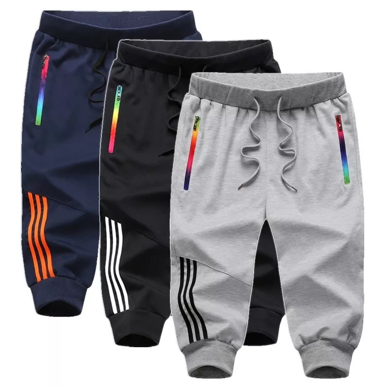 3 Piece Beach Casual Shorts Men Summer Jogger Boardshorts Man Breathable Men Shorts Sportswear Knee Length Short Sweatpants Male