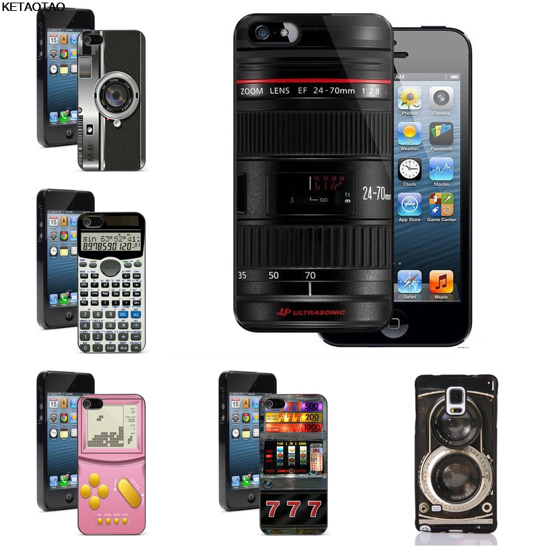Ketaotao Canon 24 70 Mm F2 8 Lensa Notebook Kamera Ponsel Case untuk iPhone