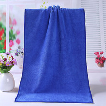 1PC Bathing Towel Shower Absorbent Superfine Fiber Soft Comfortable Bath Towel 35*75cm Oct#1(China)