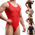 Male Underwear Shapers Net Yarn Transparent Underwear Bodywear Bodysuit Panties Sexy Men's Elasticity Briefs Shapers