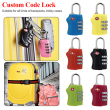 3 Digit Dial Combination Code Number Lock Padlock For Luggage Zipper Bag Backpack Handbag Suitcase Drawer durable Locks