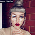 Retro clássico Design Da Marca Grau Óculos Mulheres Computador Vidros do Olho Quadro Mulheres Miopia Óptico Armações de Óculos Armação de óculos