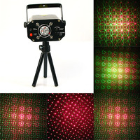 Clearance Sales Quality Guaranteed New Black Mini Projector Holographic Star Stage Laser Light Disco Effect DJ