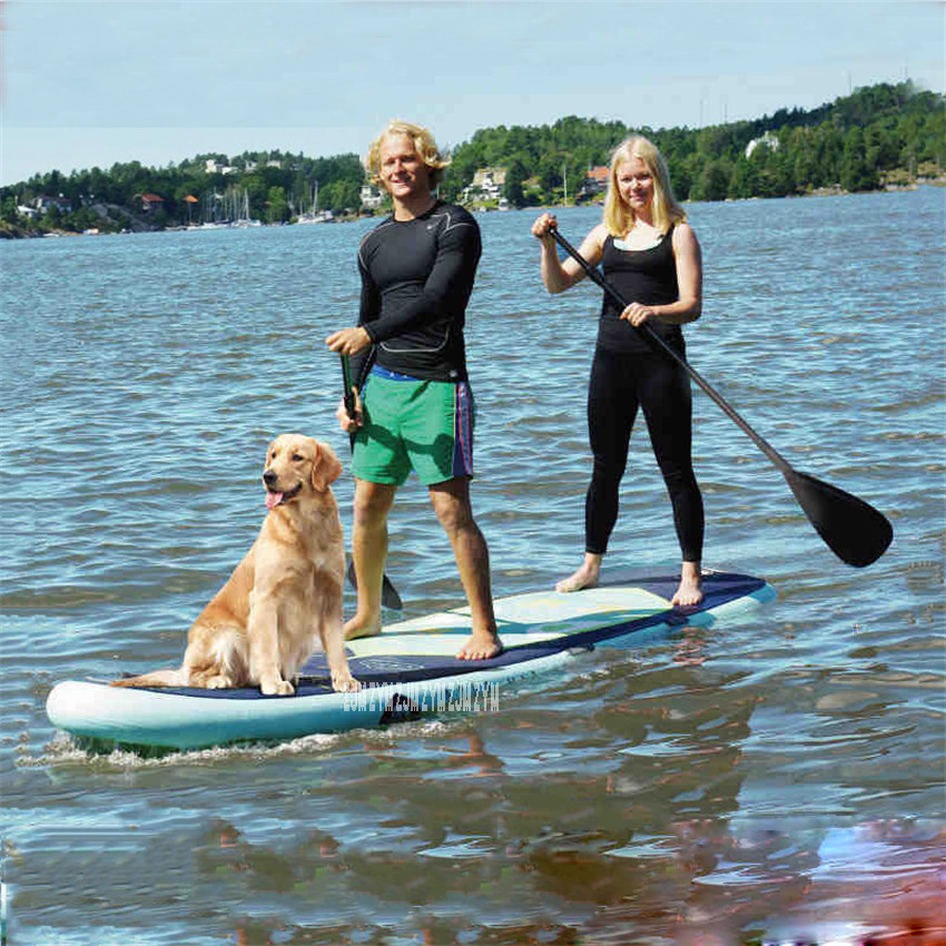 Inflatable Sup Stand Up Paddle Board Inflatable Surfboard Load Bearing 210kg With Paddle, Hand Pump, BT 88885 370 * 87 * 15 CM