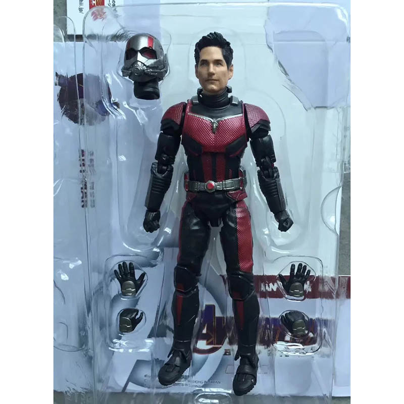 Avengers 4 Endgame SHFiguarts Ant Man Infinity War Action Figure Model Toy Doll Christmas Gift (5)