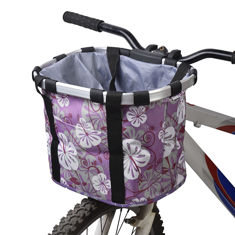 Pets Cat Seat Dog Bicycle Basket Front Removable BIke Basket Carrier Bag Cycling Accessories B123