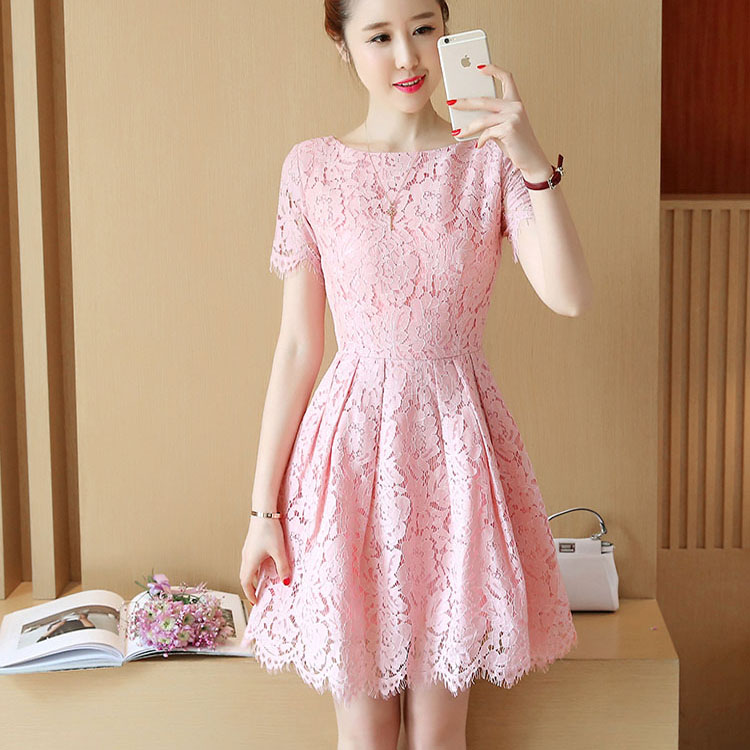 Women Dress A Line Plus Size Free Shipping Lace Dresses Work