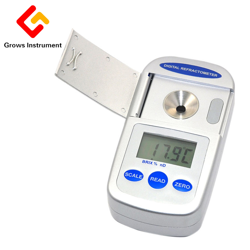 CNY28 Digital Refractometer Salinity Meter Sodium Chloride Concentration Meter Refractometer Salinity Meter Refractometer 0-28% dm pd059 usb flash drive 32gb otg metal usb 3 0 pen drive key 64gb type c high speed pendrive mini flash drive memory stick