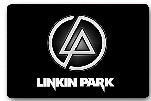 Custom 40x60cm Door Mat Cover Linkin Park Logo Non-Slip Machine Washable Outdoor Indoor Decor Rug Christmas Gift