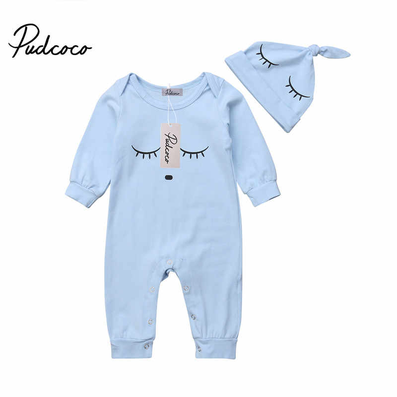 de3698318996 Detail Feedback Questions about Newborn Romper Infant Baby Boy Girl Kids  Blue Long Sleeve simple Rompers New Born Jumpsuit Cotton One Pieces Clothes  Outfit ...