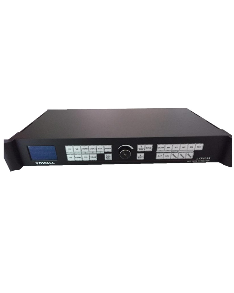 2304 x 1152 LVP605S 2 LED Transmission Cards free 1 linsn sending card SDI / HD-SDI / 3G-SDI Led Display Video Processor