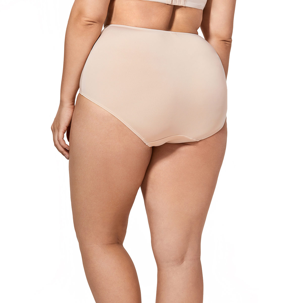 7397e947c84 Women s 2 Pack Plus Size High Cut Briefs Panties High Waist Full Coverage  Underwear-in women s panties from Underwear   Sleepwears on Aliexpress.com  ...