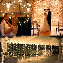 3M x 3M 300 LED New Year Christmas Garlands Curtain lights LED String Fairy Xmas Party Garden Wedding Decoration