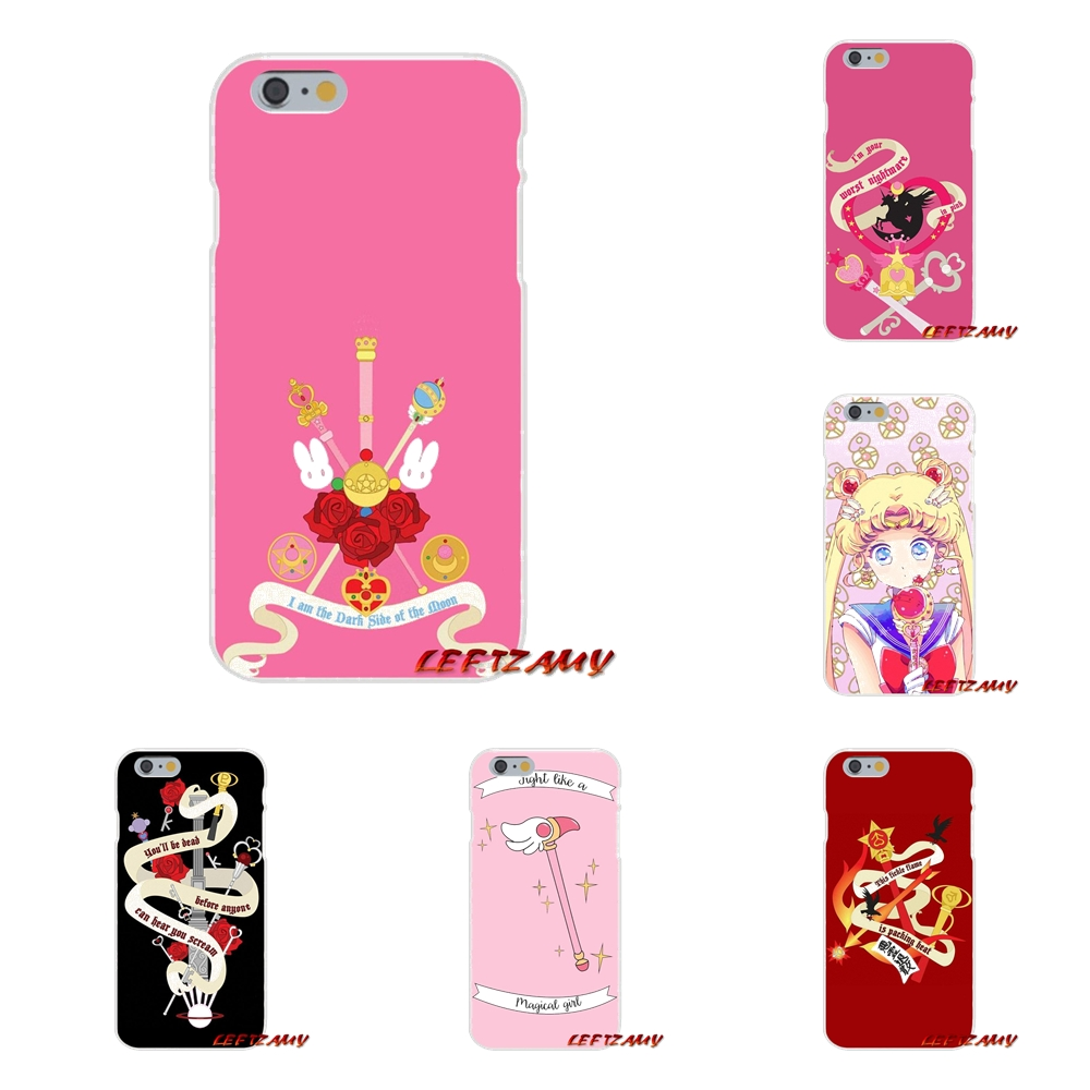 Half-wrapped Case Phone Bags & Cases Cheap Sale Transparent Soft Cases For Motorola Moto G Lg Spirit G2 G3 Mini G4 G5 K4 K7 K8 K10 V10 V20 V30 Fashion Sailor Moon Sailor Uranus Selected Material