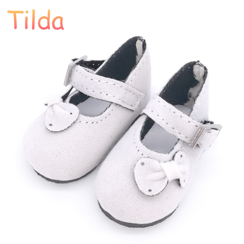 Tilda 5.6cm Mini Shoes For Paola Reina Doll,Fashion Mini Toy Gym Shoes for MSD 1/4 Bjd Doll Footwear Shoes for Dolls Accessories