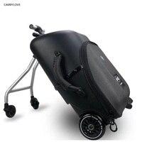 Travel tale высокое качество и удобный детский скутер чемодан ленивый вести Сумки на колёсиках ездить тележка сумка для ребенка