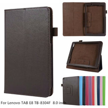 Light weight PU Leather Case For Lenovo Tab E8 8 inch Tablet