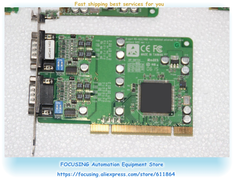 JetCard1402 VER: 1.1 2-port RS-422/485 scheda di comunicazione scheda madre industrialeJetCard1402 VER: 1.1 2-port RS-422/485 scheda di comunicazione scheda madre industriale