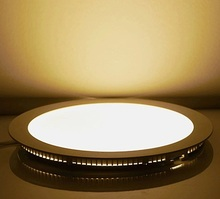 new panel Led Panel Downlight 3w 4w 6w 9w 12w 15w 18w Round Ceiling Recessed Light Ac85-265v Panel Light Smd2835