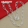 925 silber Einfache Ketten Halskette Frauen Halsketten Schmuck Zubehör