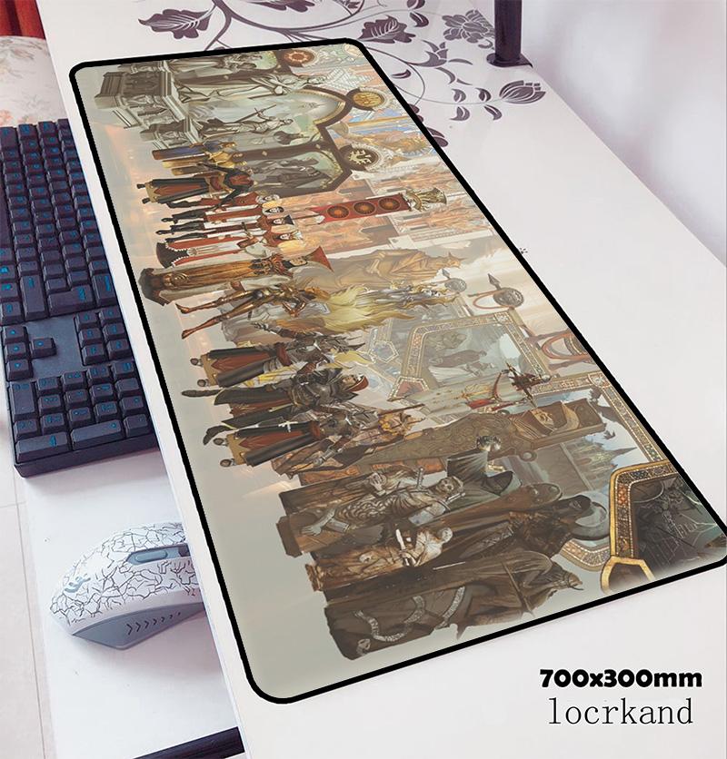 Dragon Age Mousepad 700x300x3mm Present Computer Mouse Mat Gamer Gamepad Pc Birthday Gaming Mousemat Desk Pad Office Padmouse