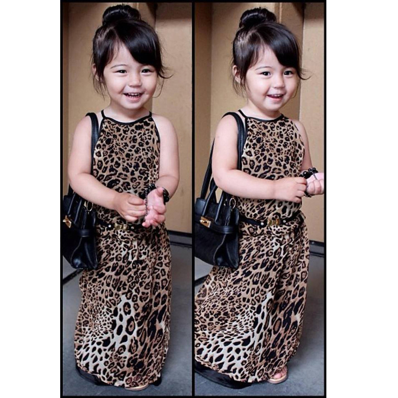 Leopard Dress for Girls Summer Tank Tops Style font b Childrens b font Dresses font b online get cheap trendy childrens clothes aliexpress com,Childrens Clothes For Cheap
