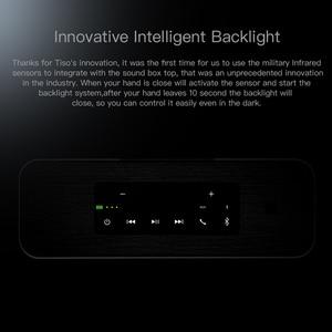 Image 4 - Tiso T12 30W lautsprecher ausgang 2,2 kanäle wireless Bluetooth V4.2 lautsprecher NFC AUX power bank zuhause sound subwoofer system