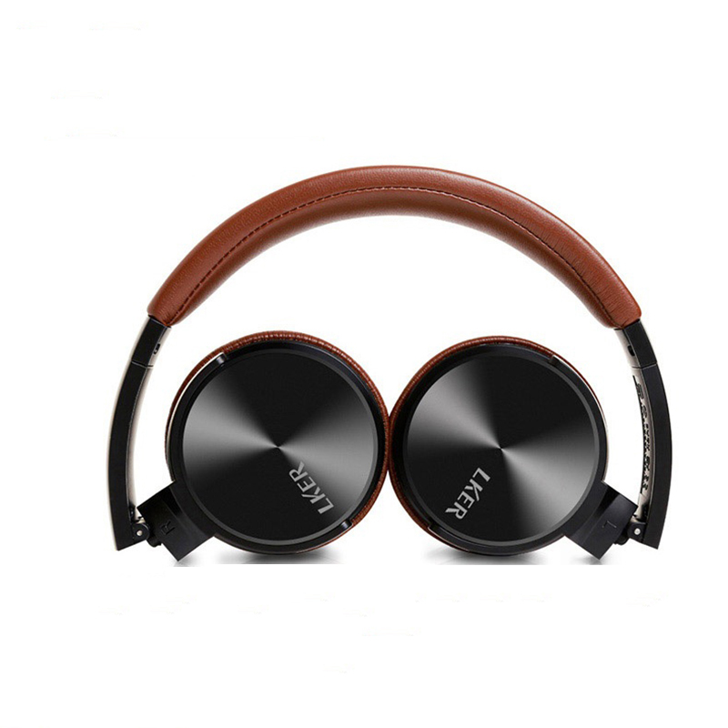 LKER ONE Headset HIFI Bass Stereo Music Earphone Gaming Headset For Iphone/PC/Ipad 3.5mm With Mic