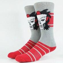 Мужские носки для скейтеров с черепами Размер США 9-11, европейский размер 42-44