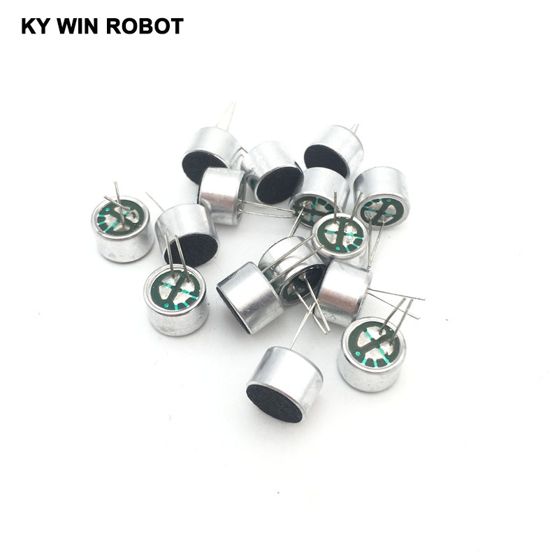 10 PCS/LOT 9x7mm 9767 Microphone Electret Microphone With 2 Pin Pick-up