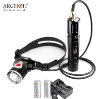 Underwater Lighting Diving Headlight XM L2 U2 LED Flashlight ARCHON DH25 WH31 Dive Lamp Torches 1000 LM 26650 Battery