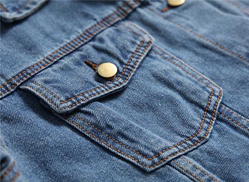 Lâche Capuche Mcikkny Denim Vestes Jean Streetwear Occasionnel Printemps Hommes De Manteaux Bleu Automne Mode Veste À Pour Capuchon w8S4q