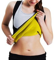 Roseate Women S Body Shaper Hot Sweat Workout Tank Top Slimming Vest Tummy Fat Burner Weight