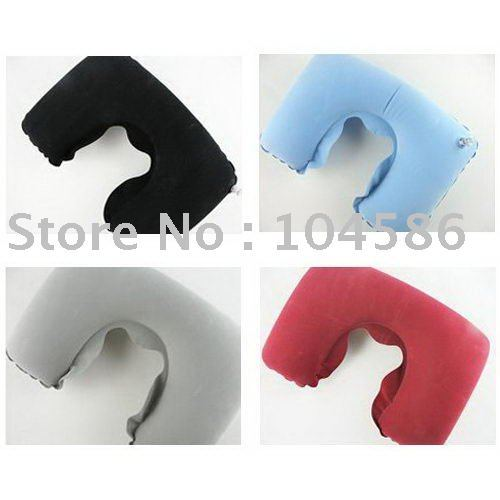 Convenient Inflatable U shape Pillow for traveling Neck Reset Air Cushion