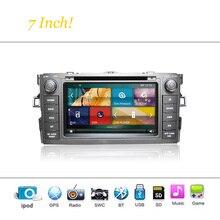 Toyota Auris Için Car DVD Player Sistemi Autoradio Araba Radyo Stereo GPS Navigasyon Multimedya Ses Video