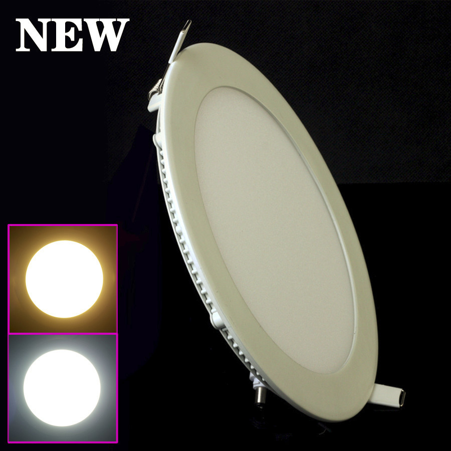 Downlights Spirited Led Downlight Dimmable 15w 12w 9w 6w Recessed Led Ceiling Panel Light Ac110v/220v Warm White/cold White Led Indoor Light Relieving Rheumatism And Cold