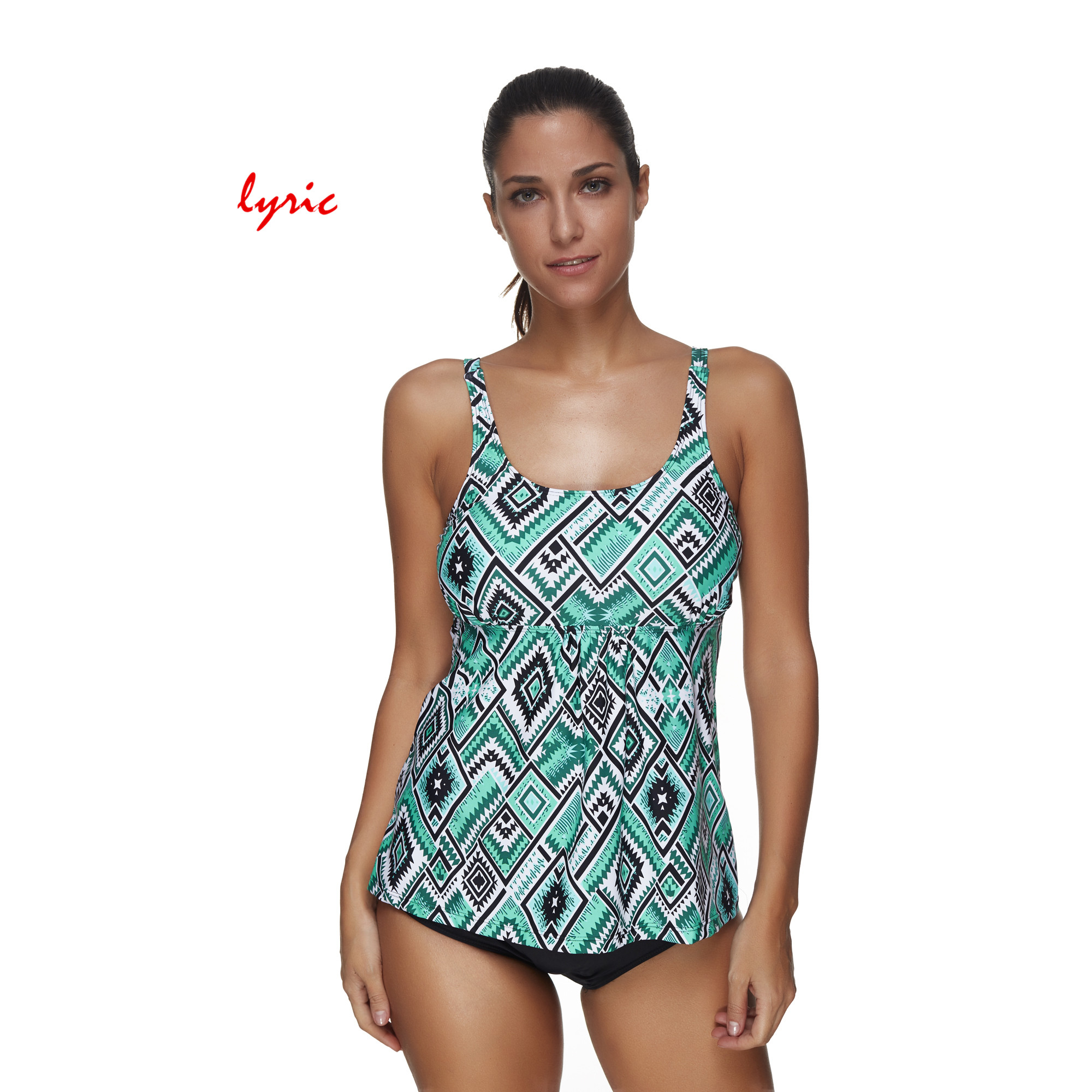 081152876177f lyric Blue Print 2 Pcs Bikini Set Swimsuit For Women Swimming Suit Plus  Size Swimwear Bathing Suit Strappy Cover Ups Costume-in Body Suits from  Sports ...