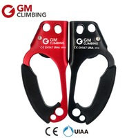 GM Climbing Ascender CE / UIAA Right Hand Rope Ascender Riser Device Survival Arborist Mountaineering Equipment
