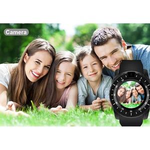 Image 5 - Inteligentny zegarek V8s mężczyźni Bluetooth Sport zegarki damskie panie Rel gio smartwatch z kamerą gniazdo karty sim telefon z systemem android PK DZ09 A1