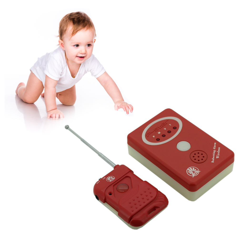 Original Bedwetting Alarm Enuresis Urine Bed Wetting Alarm +Sensor With Clamp For Baby Adult Kids
