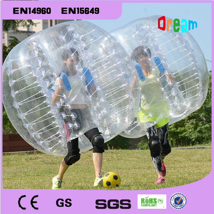Free shipping hot sale in flatable bumper ball loopy ball bubble soccer ball zorb ball