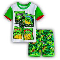 2016 New Baby Boys Kid SportsWear Tracksuit Outfit Cartoon Gilrs Suit Summer Kids Boys Clothes Sets